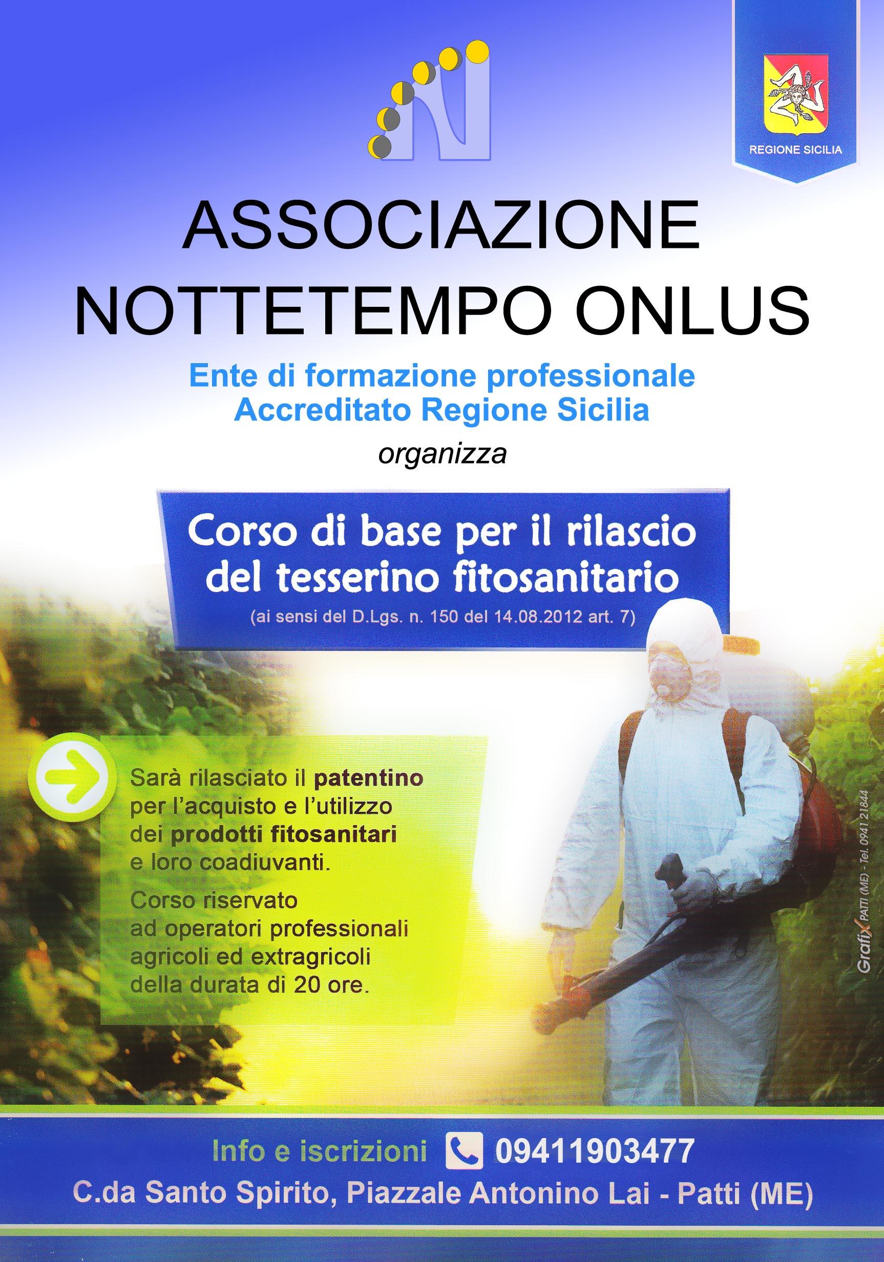 Corso di base per il rilascio del tesserino fitosanitario